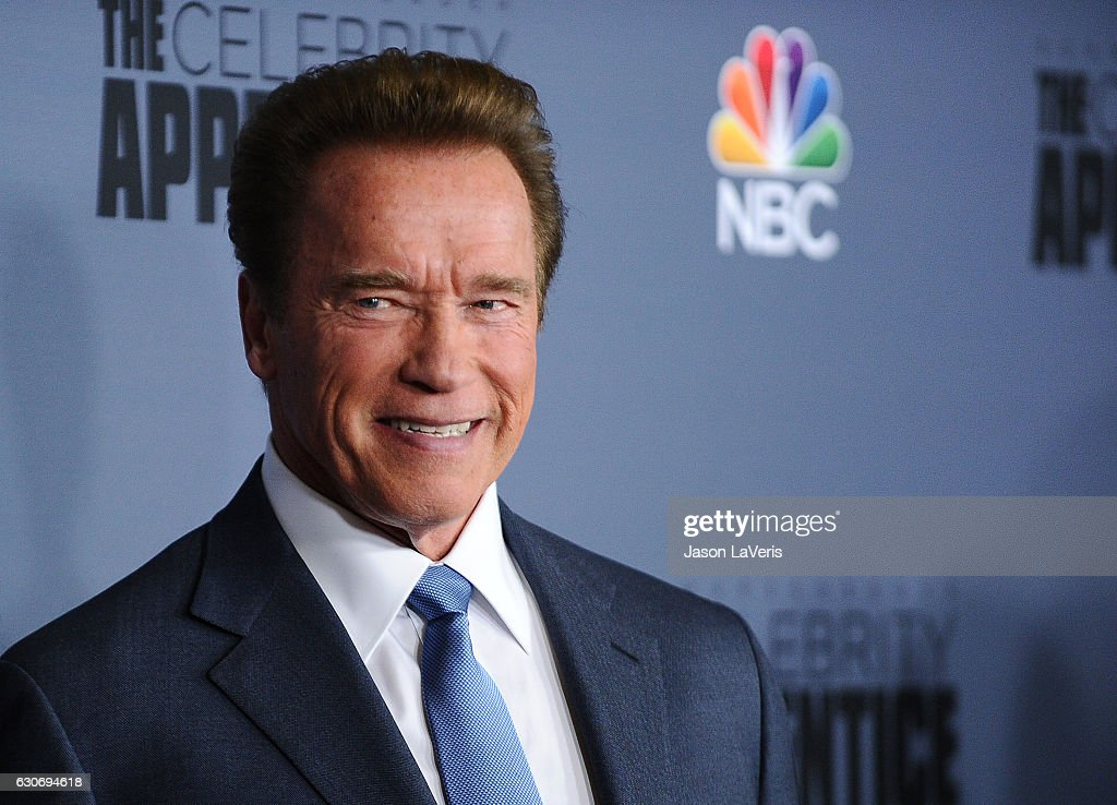Arnold Schwarzenegger attends the press junket For NBC's 'Celebrity Apprentice' at The Fairmont Miramar Hotel & Bungalows on January 28, 2016 in Santa Monica, California.