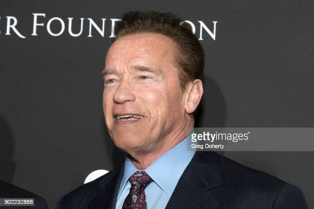 Arnold Schwarzenegger attends the SEAN PENN J/P HRO GALA A Gala Dinner to Benefit J/P Haitian Relief Organization and a Coalition of Disaster Relief...