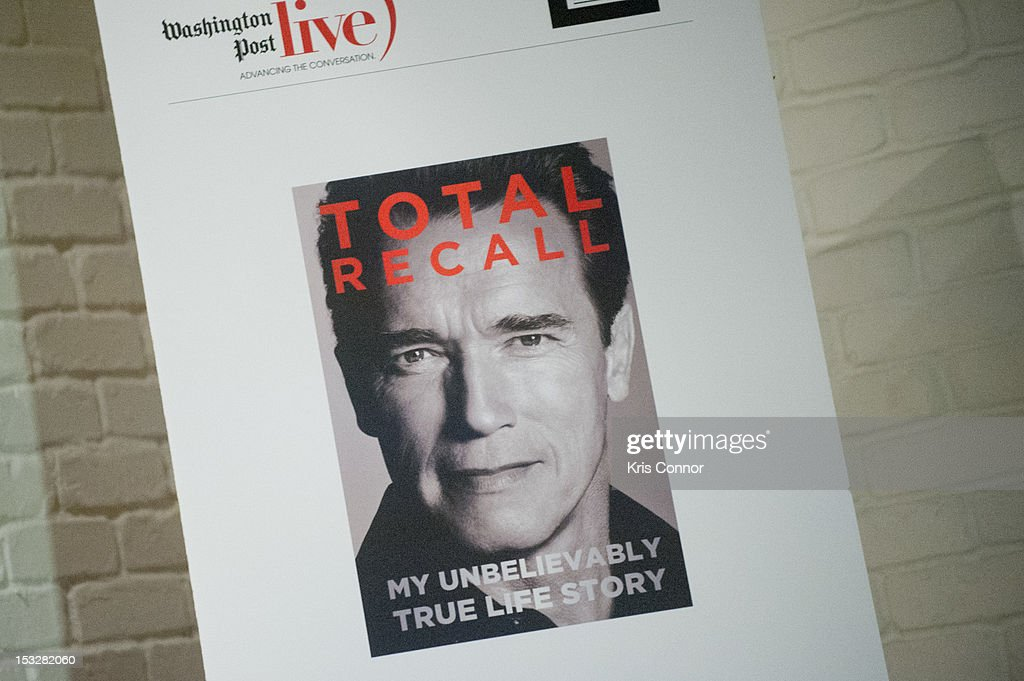Total Recall Arnold Book