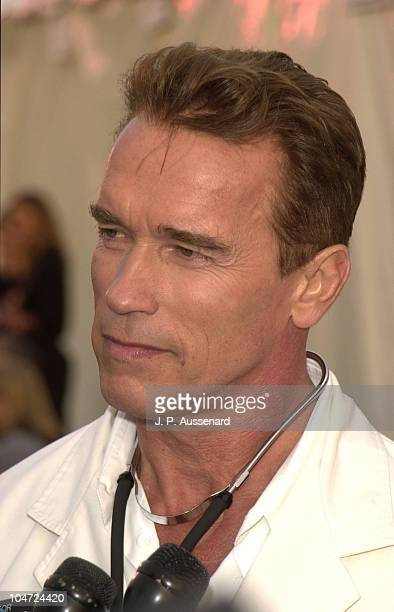 Arnold Schwarzenegger during 8th Annual Dream Halloween to Benefit Children Affected by Aids Foundation at Santa Monica Airport in Santa Monica...
