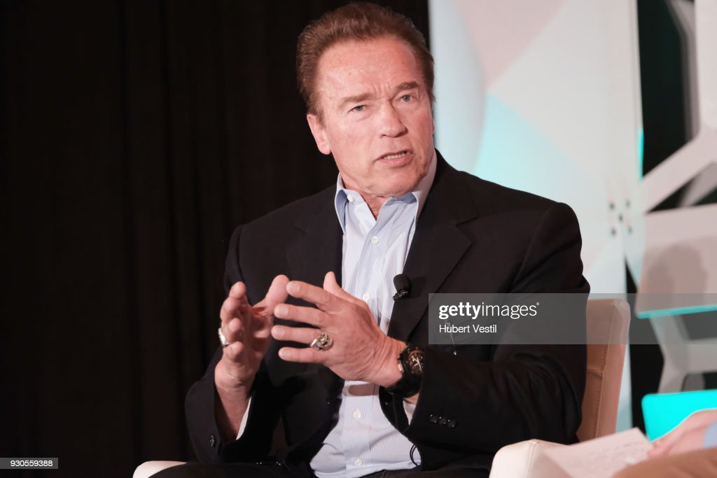 Arnold Schwarzenegger Joins POLITICO's Off Message - 2018 SXSW Conference and Festivals : News Photo