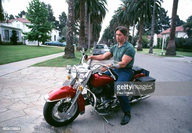 Arnold Schwarzenegger in 1982 is friendly and obliging with the press as Conan the Barbarian is about to released and Arnold is on his way to being a...