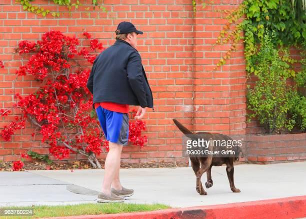 Arnold Schwarzenegger is seen on May 30 2018 in Los Angeles California