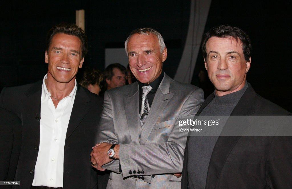 2002 World Stunt Awards - Backstage : News Photo
