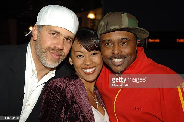 Arnold Turner Denyce Lawton and Alex Thomas during Arnold Turner Presents A Journey Behind The Music at Arclight in Los Angeles California United...