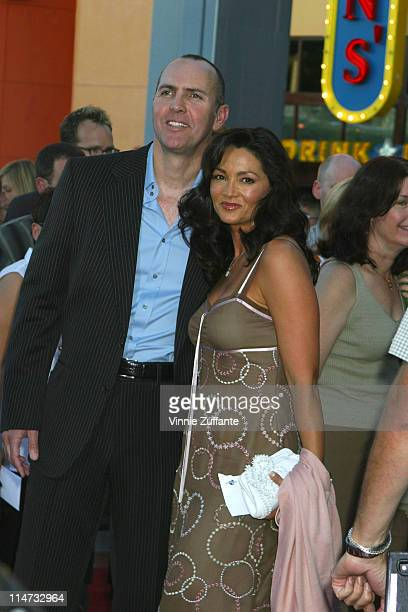 Arnold Vosloo and wife Sylvia Ahi Van Helsing Premiere Universal Amphitheatre Universal City