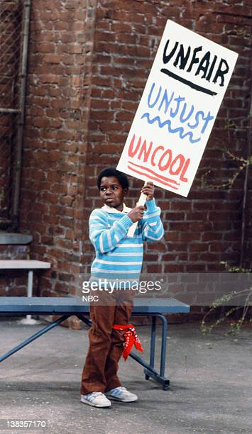 RENT STROKES 'Arnolds Strike' Episode 5 Pictured Gary Coleman as Arnold Jackson
