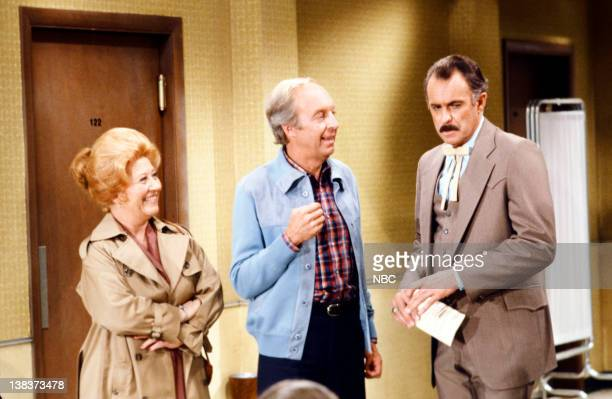 RENT STROKES Arnolds's Girlfriend Part 1 2 Pictured Charlotte Rae as Edna Garrett Conrad Bain as Philip Drummond Dabney Coleman as Fred Tanner
