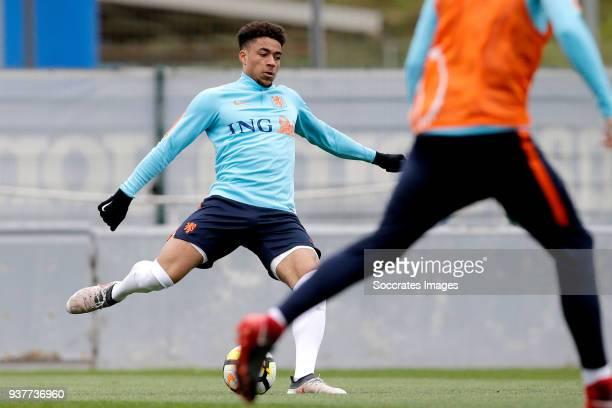 Arnout Groeneveld of Holland U21 during the Training Holland U21 at the Ciutat Esportiva Dani Jarque on March 25 2018 in Mataro Spain
