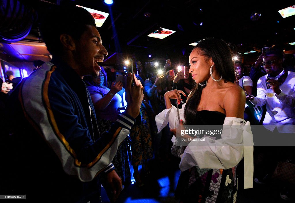WEtv Celebrates The Premieres Of Growing Up Hip Hop New York And Untold Stories Of Hip Hop : News Photo