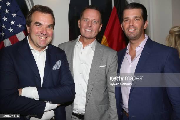 Arnulf Damerau Ambassador Richard Grenell and Donald Trump Jr attend Ambassador Grenell Goodbye Bash on May 6 2018 in New York City