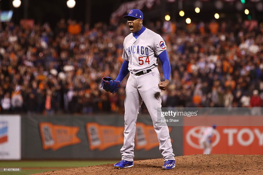 Division Series - Chicago Cubs v San Francisco Giants- Game Four