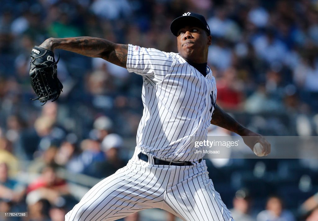 Oakland Athletics v New York Yankees : News Photo