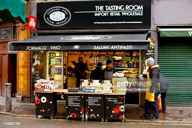 Aroma Markets Shop Burough Market London