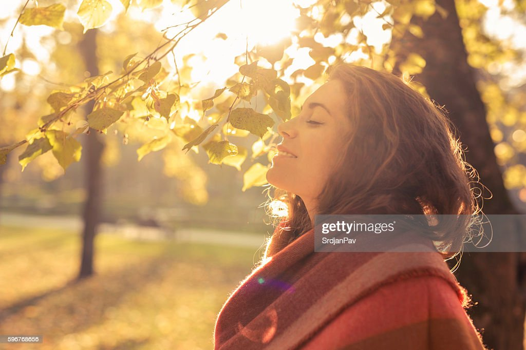 Aroma of the fall : Stock Photo