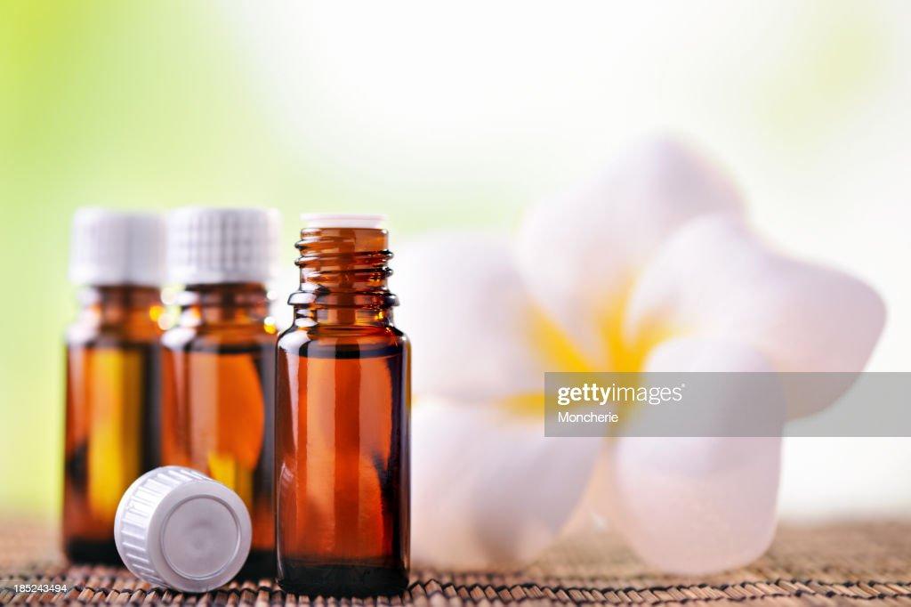 Aromatherapy oil : Stock Photo