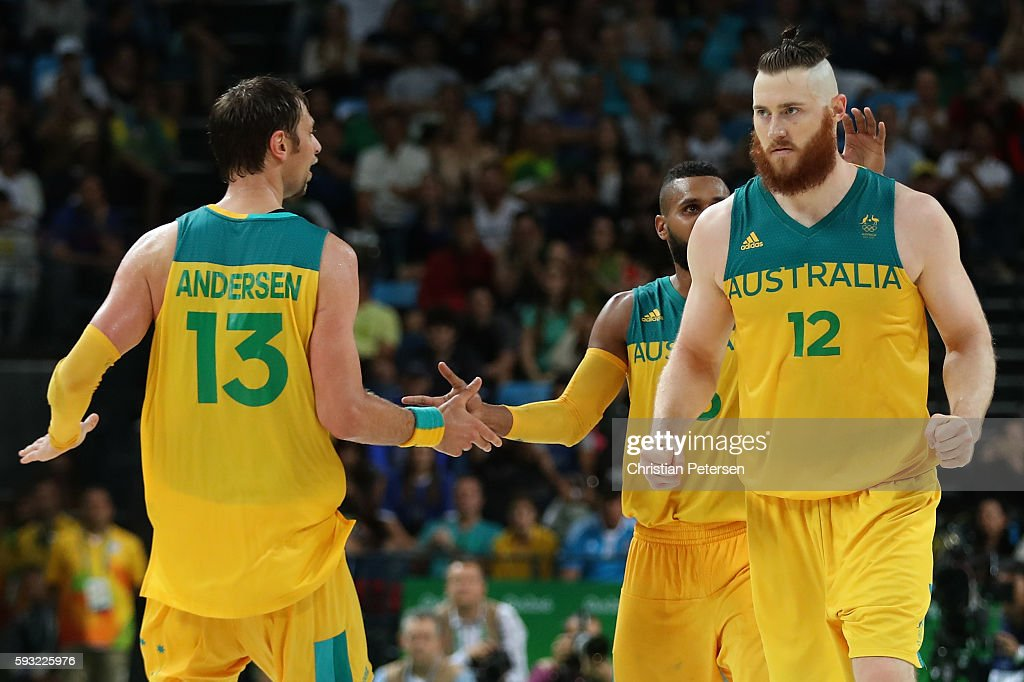 Basketball - Olympics: Day 16 : News Photo