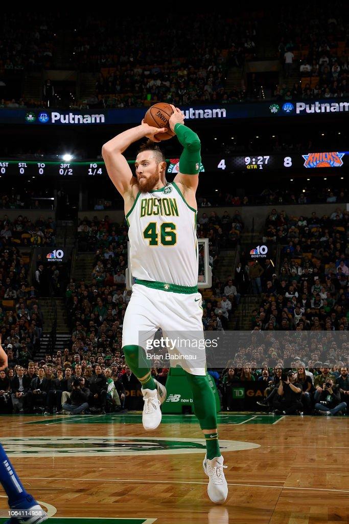 New York Knicks v Boston Celtics : News Photo