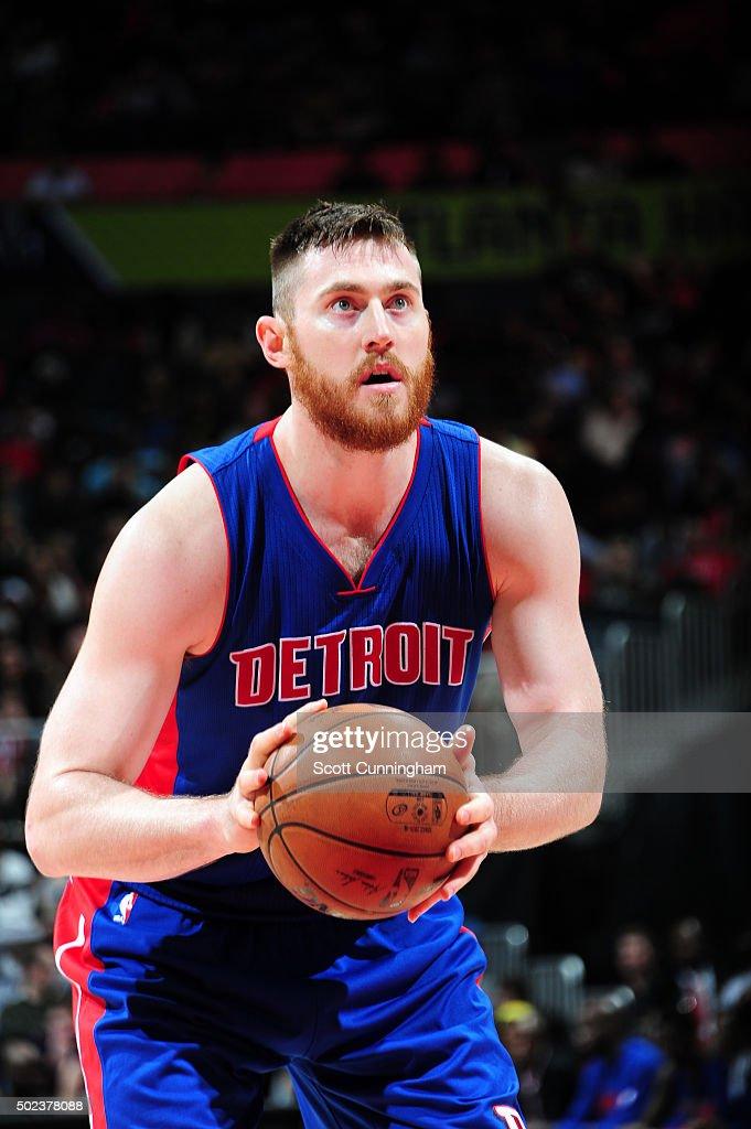 Detroit Pistons v Atlanta Hawks : Foto di attualità