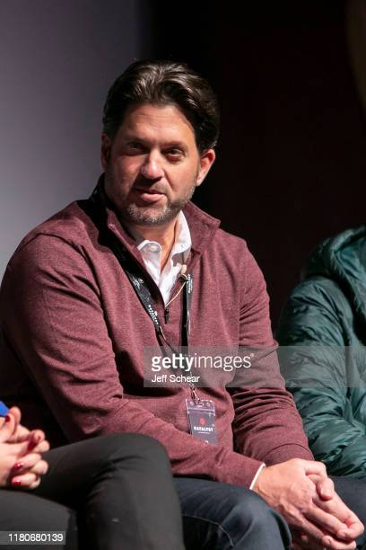 Aron Giannini attends the Catalyst Content Festival on October 12 2019 in Duluth Minnesota