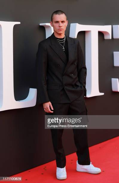 Aron Piper attends Elite 2nd Season Premiere at Callao Cinema on August 29 2019 in Madrid Spain