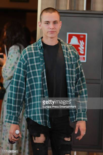 Aron Piper attends 'Elite' photocall on August 29 2019 in Madrid Spain