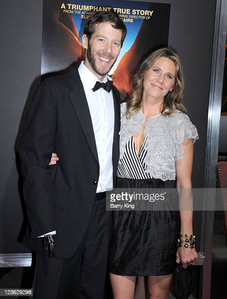 Aron Ralston and Jessica Trusty arrive at the Los Angeles Premiere 127 Hours at AMPAS Samuel Goldwyn Theater on November 3 2010 in Beverly Hills...