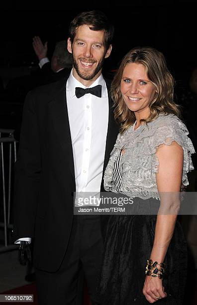 Aron Ralston and Jessica Trusty arrive at the premiere of 127 Hours at the Academy Of Motion Picture Arts and Sciences Samuel Goldwyn Theater on...