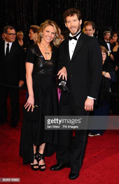 Aron Ralston and Jessica Trusty arriving for the 83rd Academy Awards at the Kodak Theatre Los Angeles