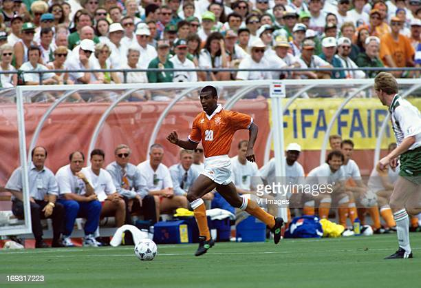 Aron Winter during the FIFA World Cup 1994 round of 16 match between Netherlands and Ireland om July 4 1994 at the Citrus Bowl stadium in Orlando...