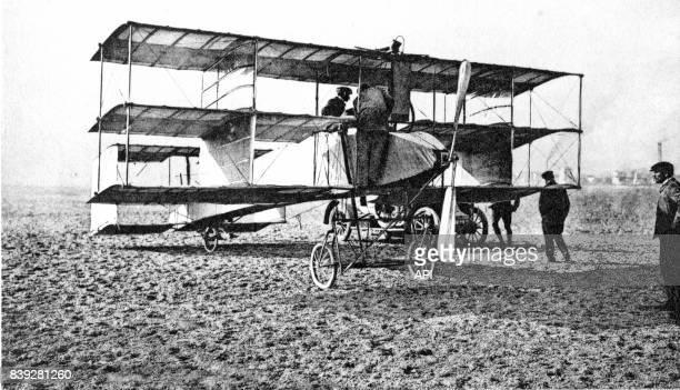 Aéroplane Goupy N°1 des constructeurs français Voisin Frères