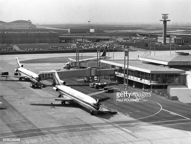 Aéroport de Roissy-Charles-de-Gaulle à Roissy-en-France, France.