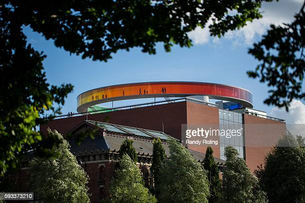 ARoS Aarhus Art Museum features a rainbow panorama on the roof More than 30 young people left this port city of 330000 for Syria forcing the police...