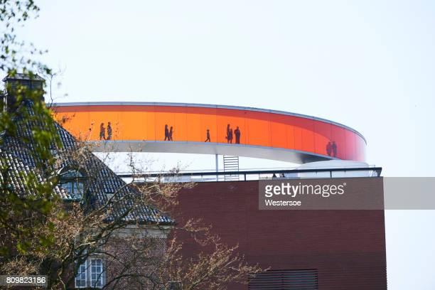 アロス ・ オーフス市内から見た - オルフス ストックフォトと画像
