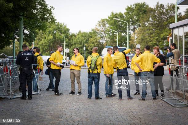 Around 150 members of the far right identitarian movement held a remembrance demonstration at Kahlenberg Vienna including a torch march on September...