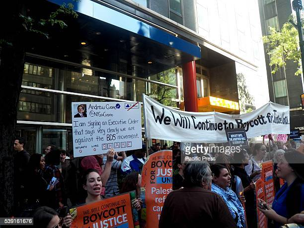 Around 300 people protest outside Governor Andrew Cuomo's office in New York City Palestinian human rights has reached a critic point as Gov Cuomo...