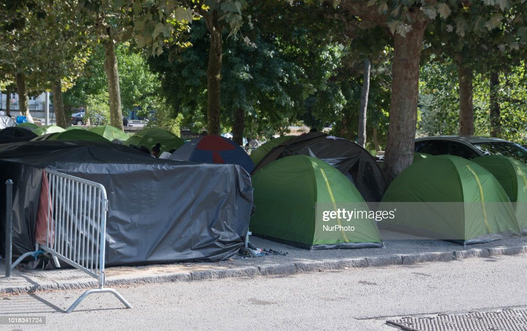 Migrants Crisis In Nantes