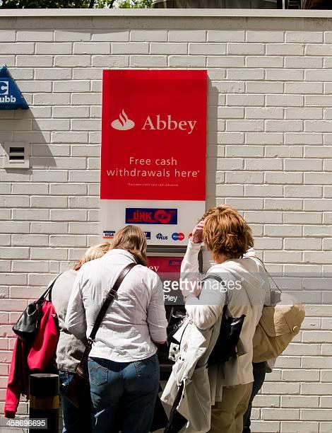 Around the cash machine