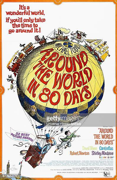 Around the World in 80 Days is a 1956 adventure comedy film starring David Niven and Cantinflas The epic picture was directed by Michael Anderson and...
