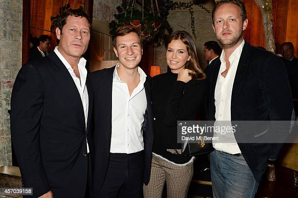 Arpad Busson Dave Clark Dasha Zhukova and Edward Spencer Churchill attend the book launch party for 'How Google Works' by Eric Schmidt and Jonathan...