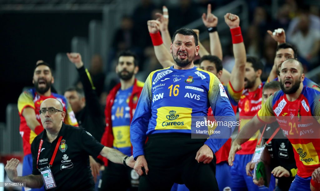 Spain v Sweden - EHF Euro Croatia 2018 Final