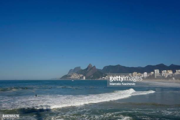 Arpoador Beach in Ipanema, Rio de Janeiro