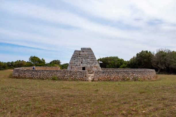 Arqueologichal construction in Balearian island
