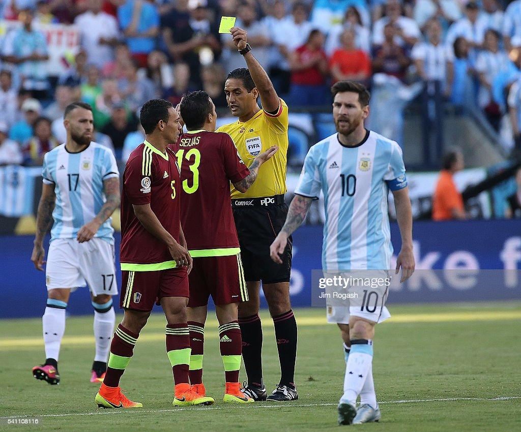 Argentina v Venezuela: Quarterfinal - Copa America Centenario