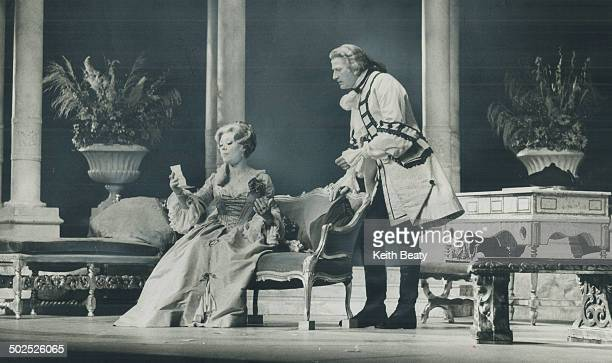 arquise always seems much better when Glynis Johns is says critic Urjo Kareda Noel Coward play at the Royal Alex Bary Sinclair and Richard Todd Miss...