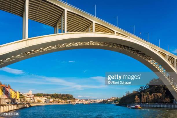 Arrabida Bridge in Porto Portugal