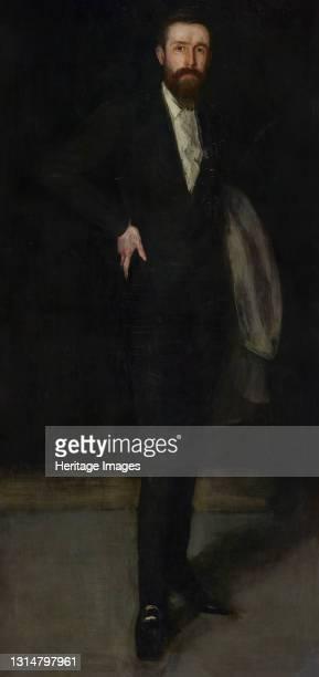 Portrait of F. R. Leyland, 1870-1873. Artist James Abbott McNeill Whistler.