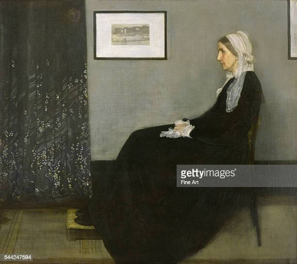 Arrangement in Grey and Black No 1 depicting Anna McNeill Whistler oil on canvas 1443 x 1624 cm Musee d'Orsay Paris France