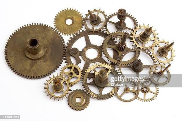 Arrangement Of Clock Parts
