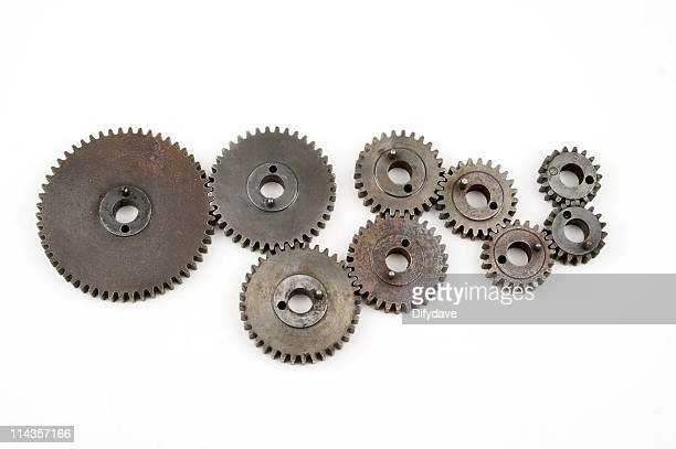 Arrangement Of Machine Gears